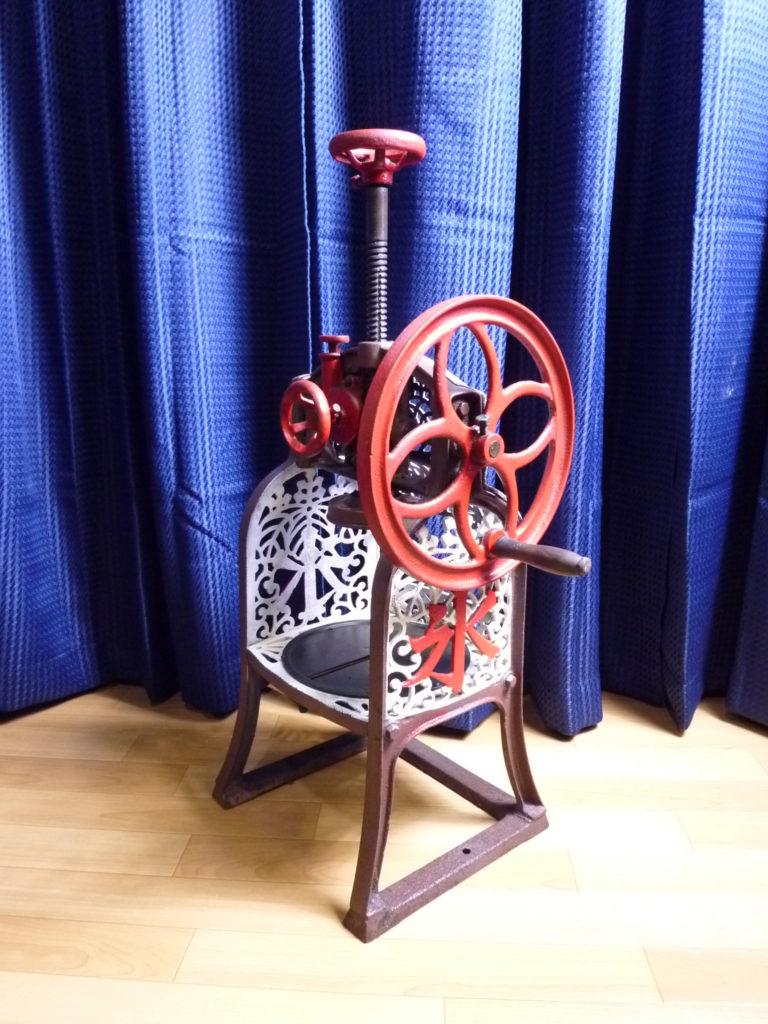 古い手回し式のかき氷機の不用品買取