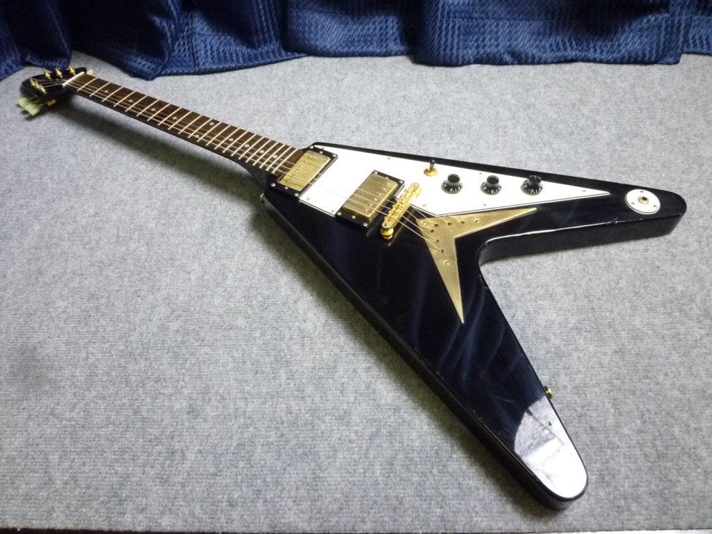 Epiphone製フライングVエレキギターの不用品買取