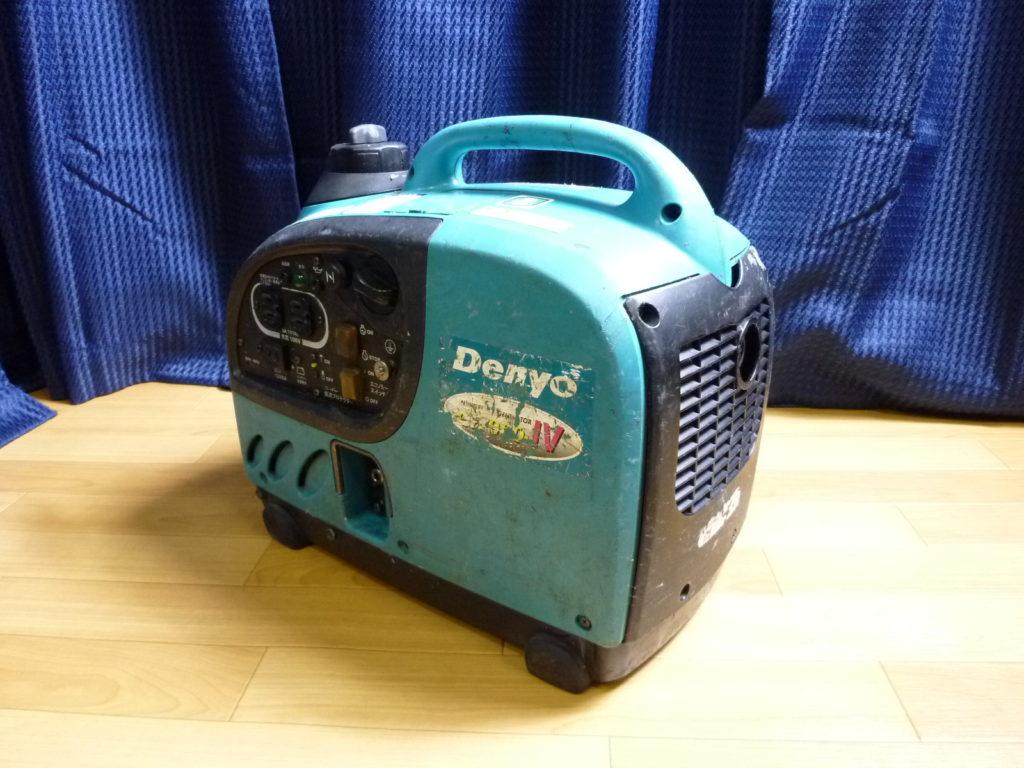 Denyoのインバーター発電機の不用品買取