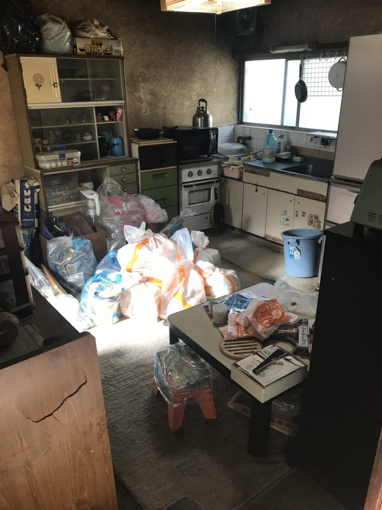 台所・キッチンの遺品整理