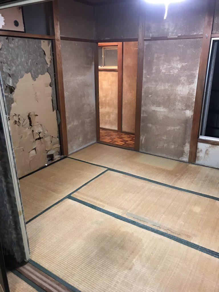 2階居間整理