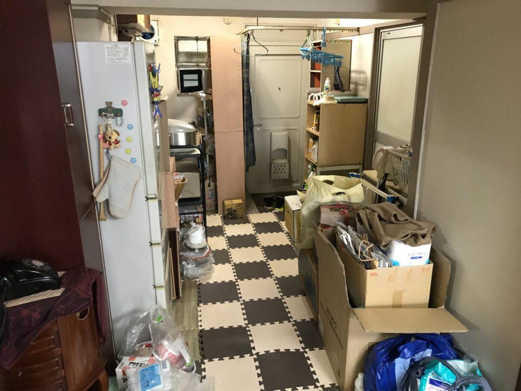キッチン周りの家電製品の不要品回収