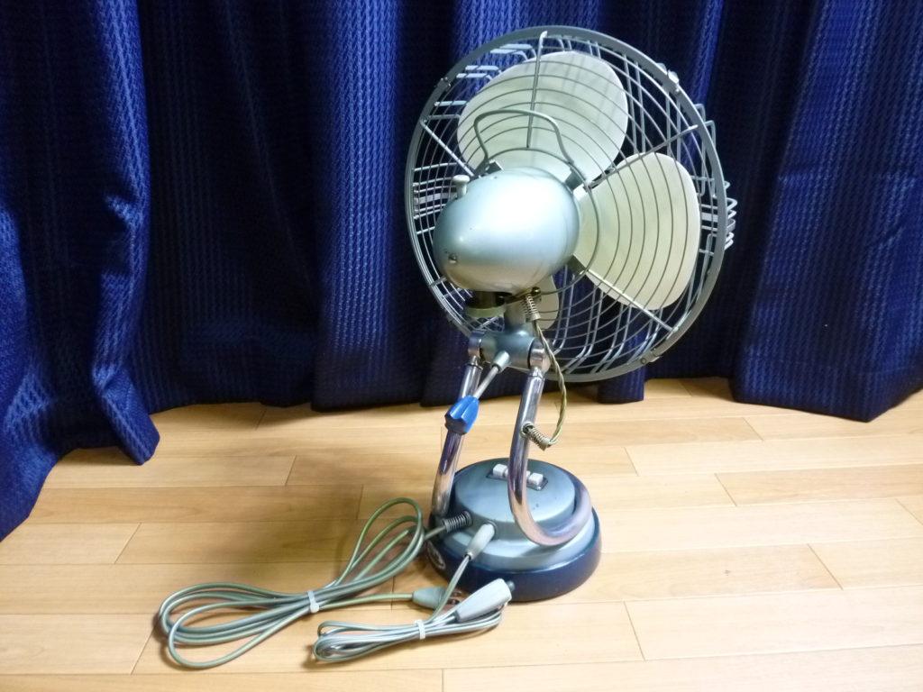 アンティークな扇風機