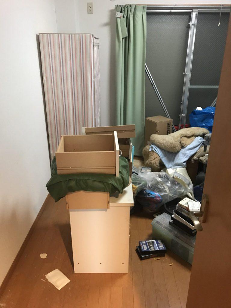 整理タンス・衣装ケースの不用品回収