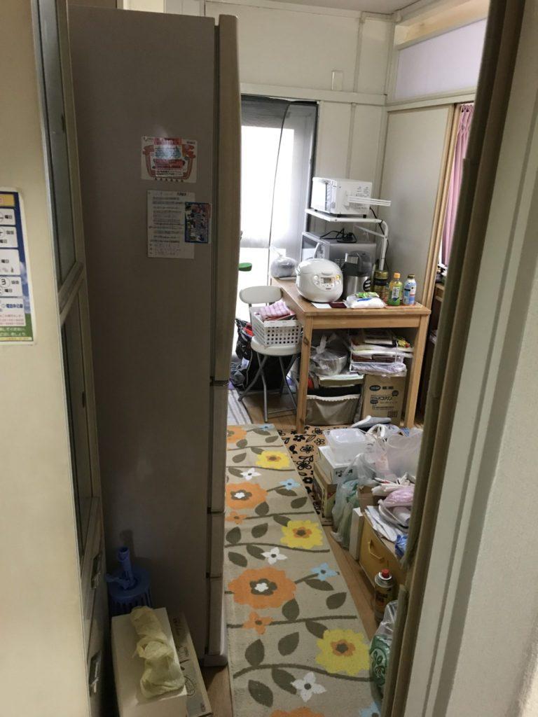 キッチンの冷蔵庫や炊飯器