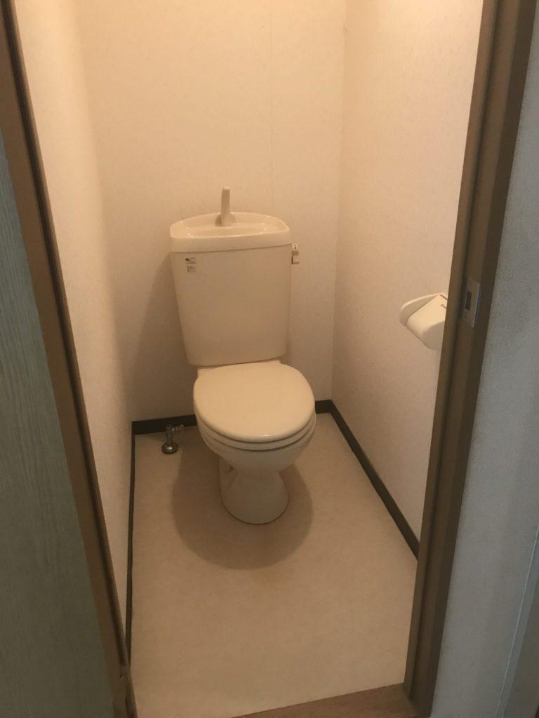 トイレのハウスクリーニング後