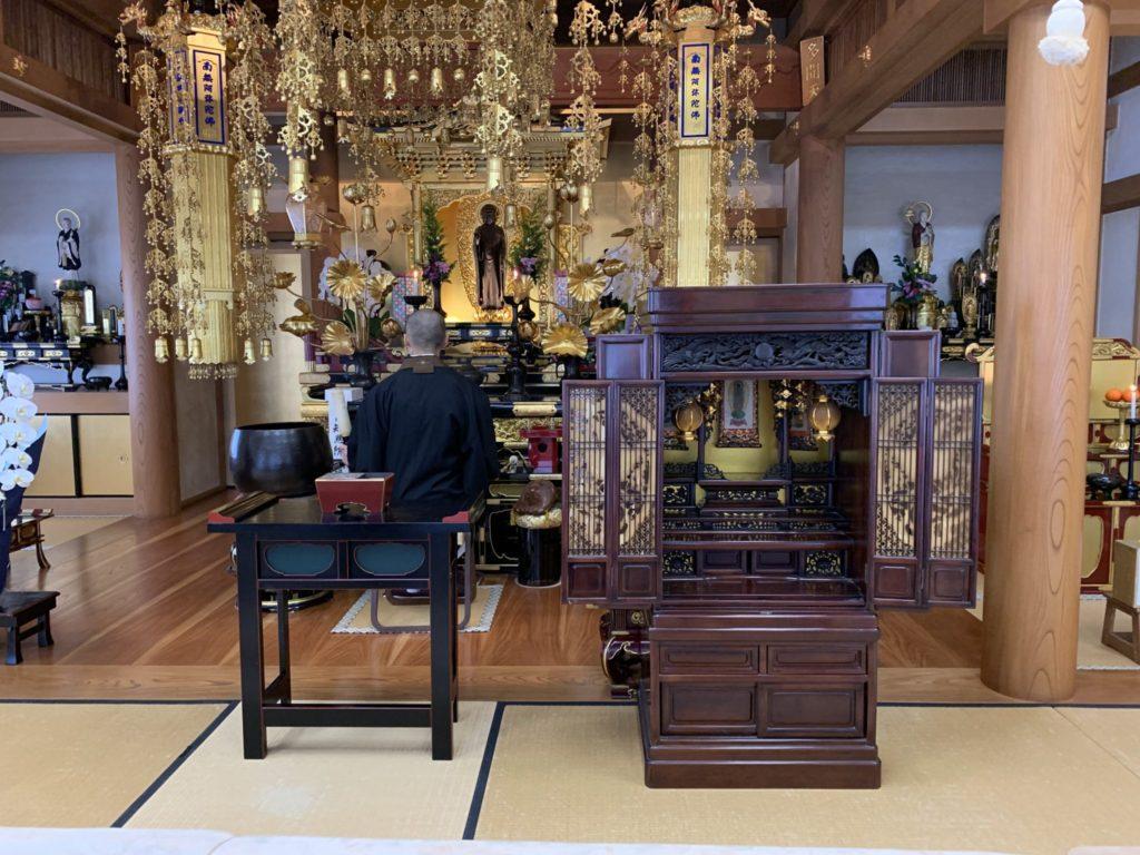 遺品整理に伴うお仏壇の御供養・お焚き上げ
