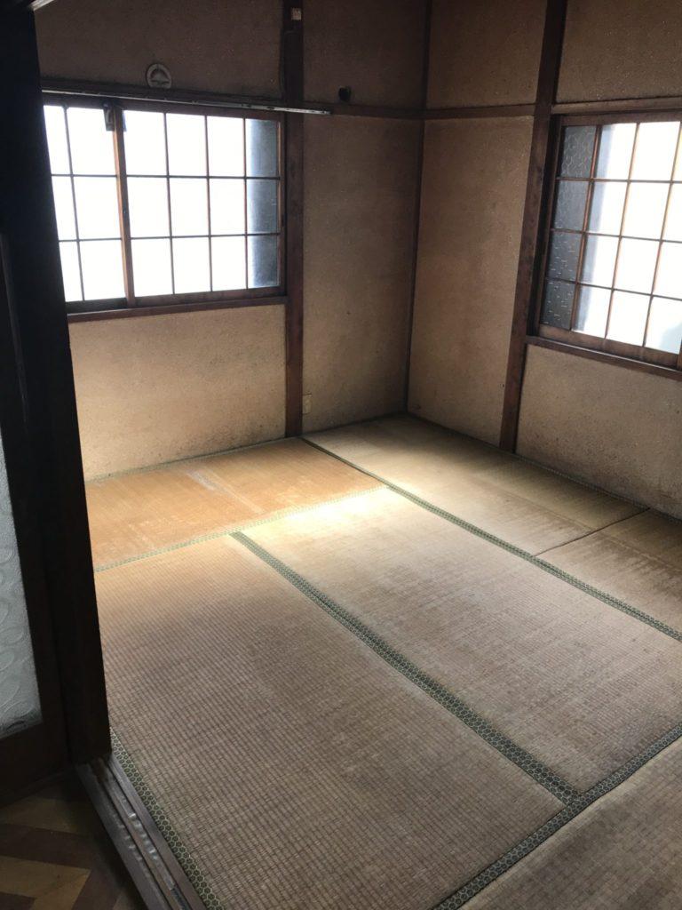 大阪府八尾市の不用品処分後1