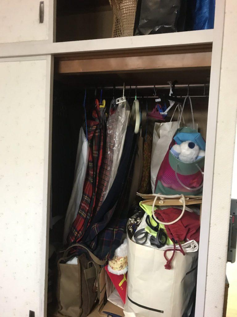 大阪市天王寺区の大量の不用品回収前3