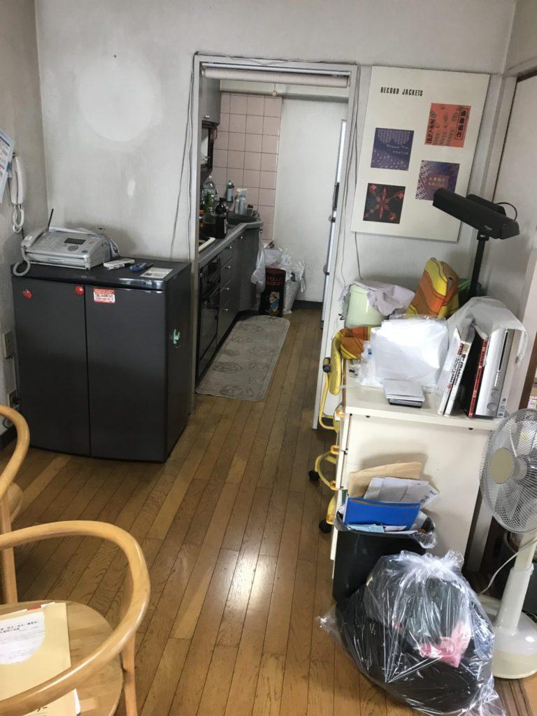 大阪市天王寺区の大量の不用品処分前10
