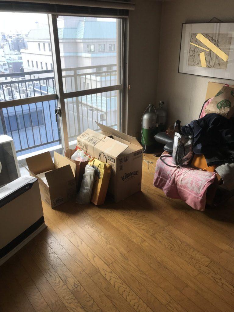 大阪市天王寺区の家一軒丸ごと整理前3