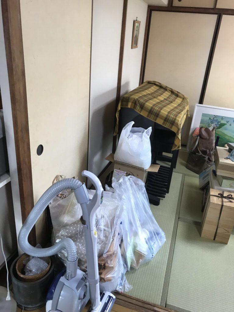 大阪市天王寺区の家一軒丸ごと整理前9