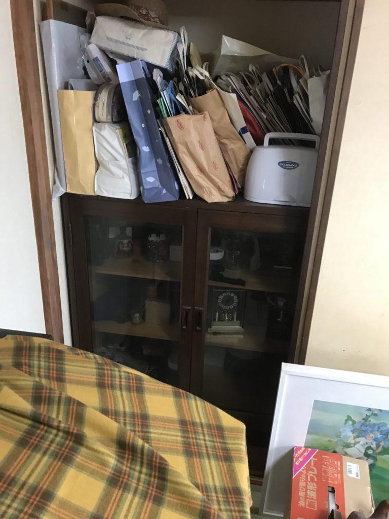 大阪市天王寺区の家一軒丸ごと片付け前2