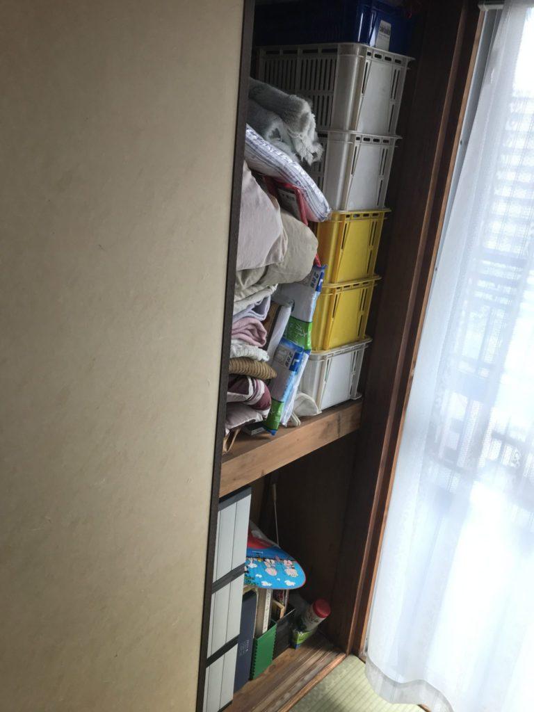 大阪市天王寺区の家一軒丸ごと片付け前5