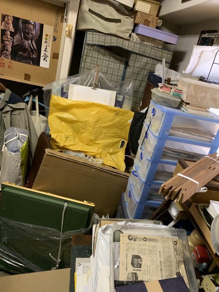 大阪市中央区の遺品整理前4