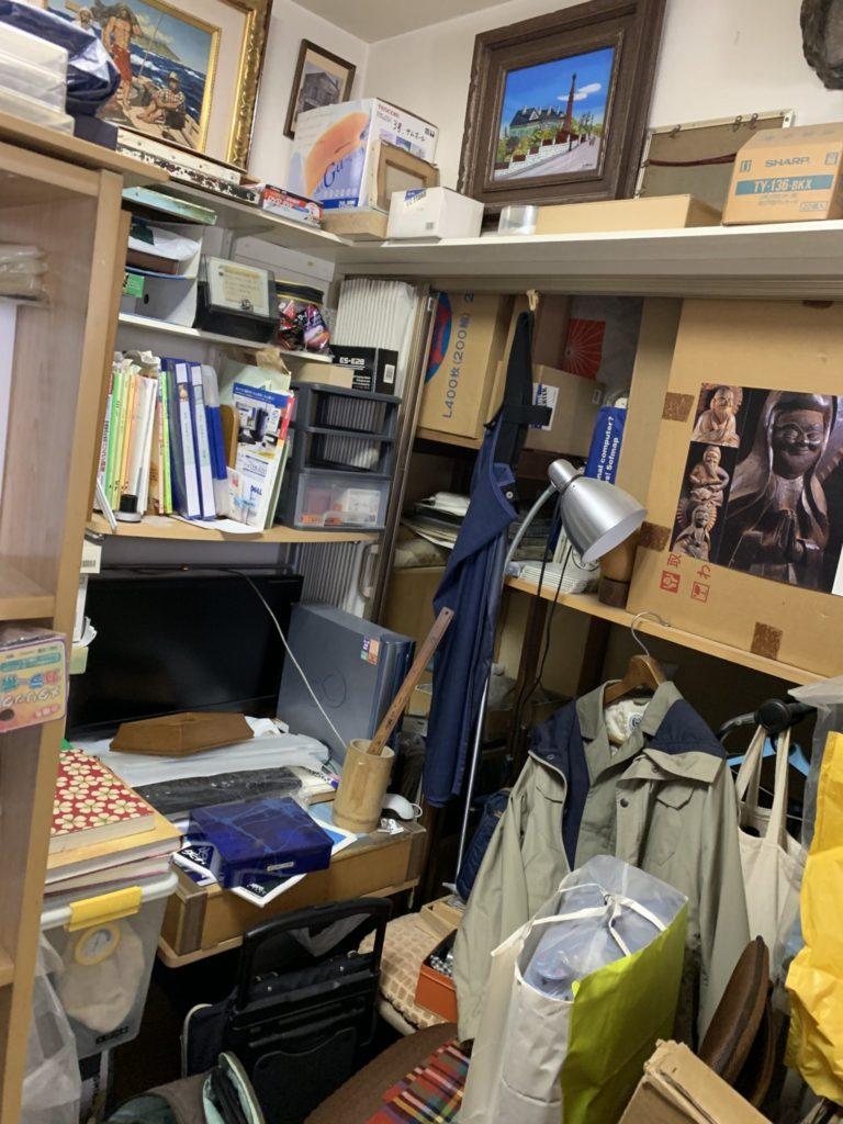 大阪市中央区の遺品整理前5