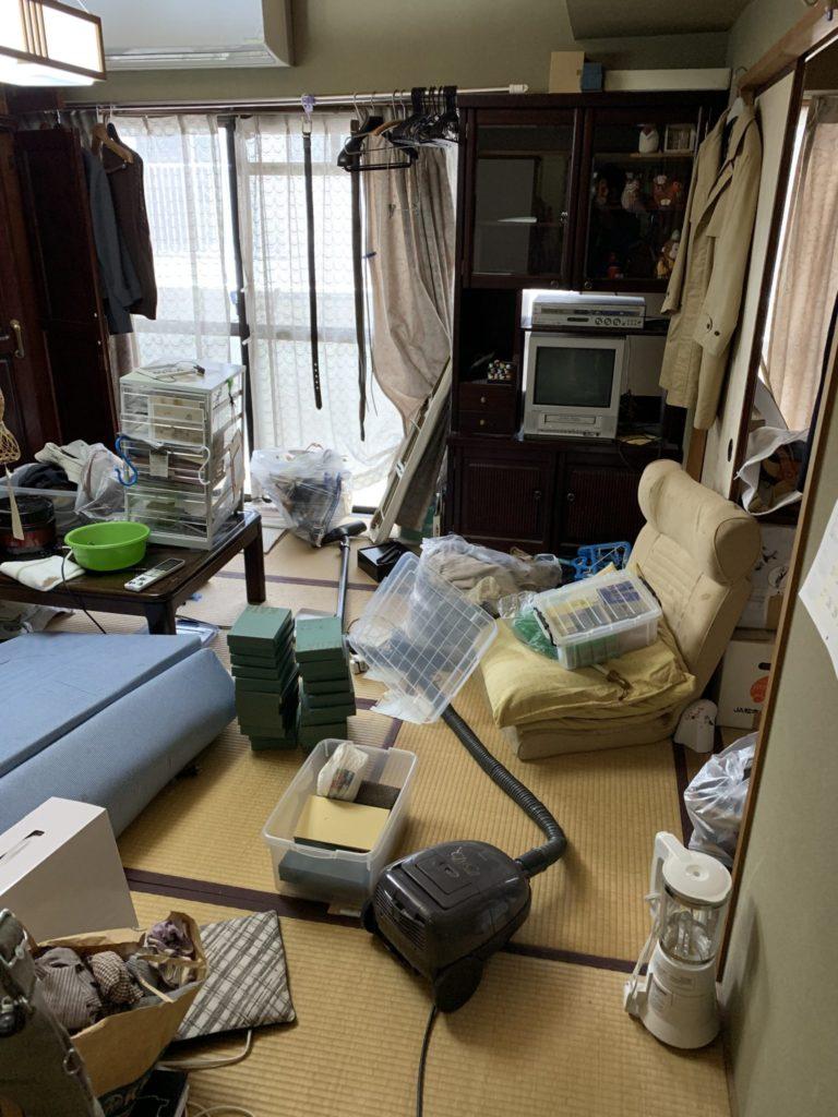 大阪市中央区の遺品整理前7