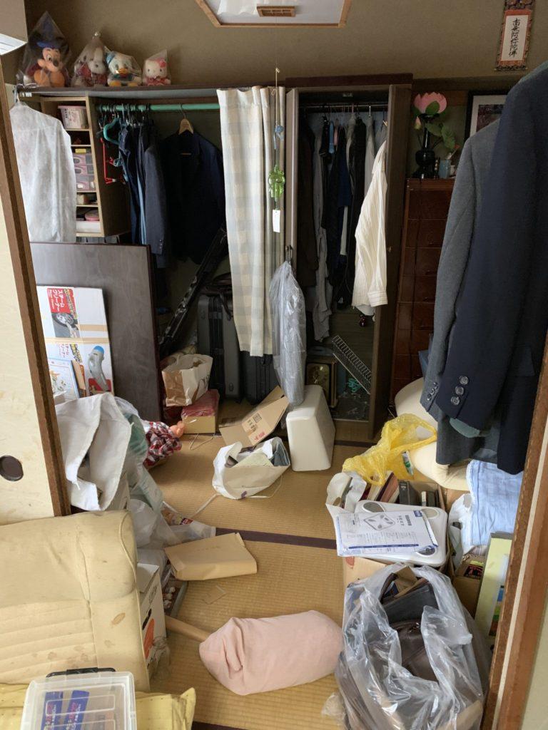 大阪市中央区の遺品整理前9