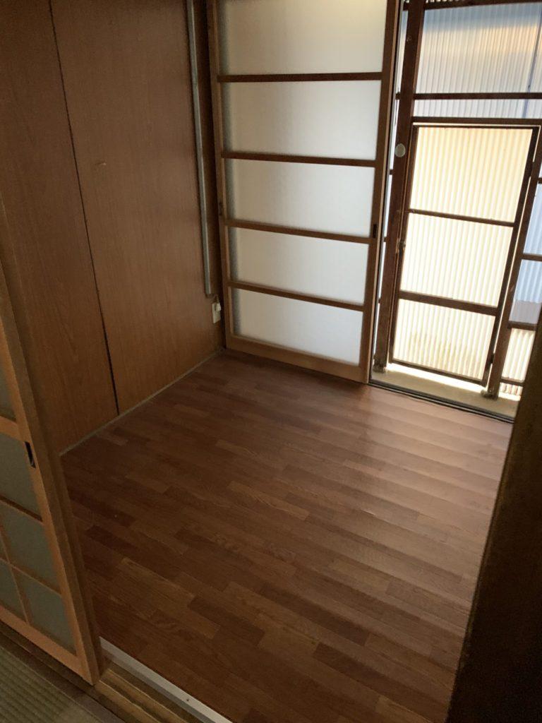 大阪市東淀川区の不用品の回収後3