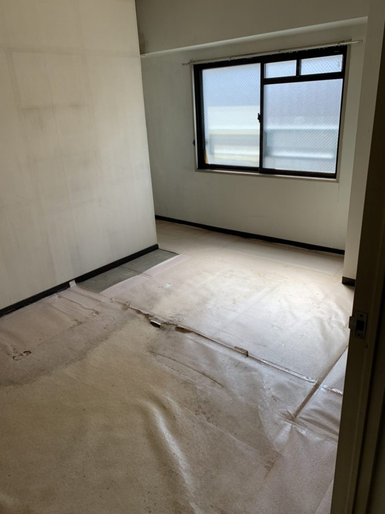 大阪市中央区の家一軒丸ごと整理後