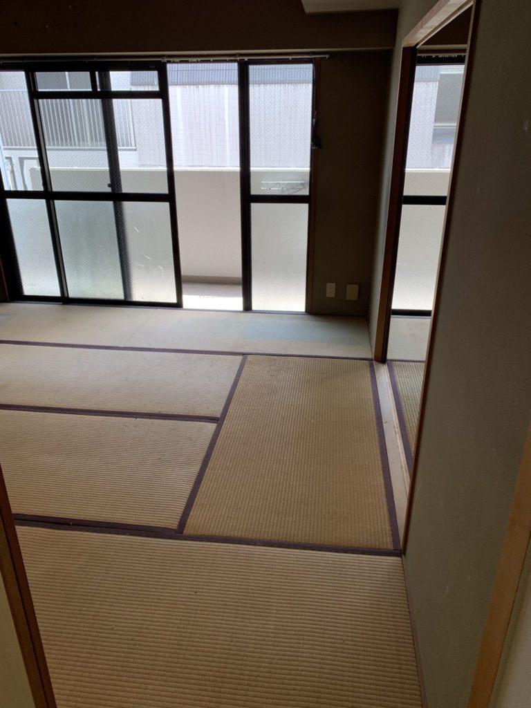 大阪市中央区の遺品整理後2