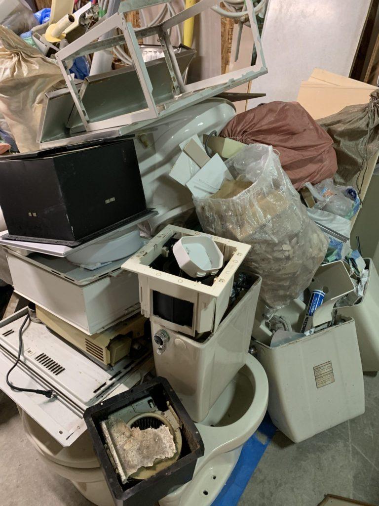 大阪市平野区 店舗・会社・倉庫・工場などの整理・不用品処分 法人様のお客様 2