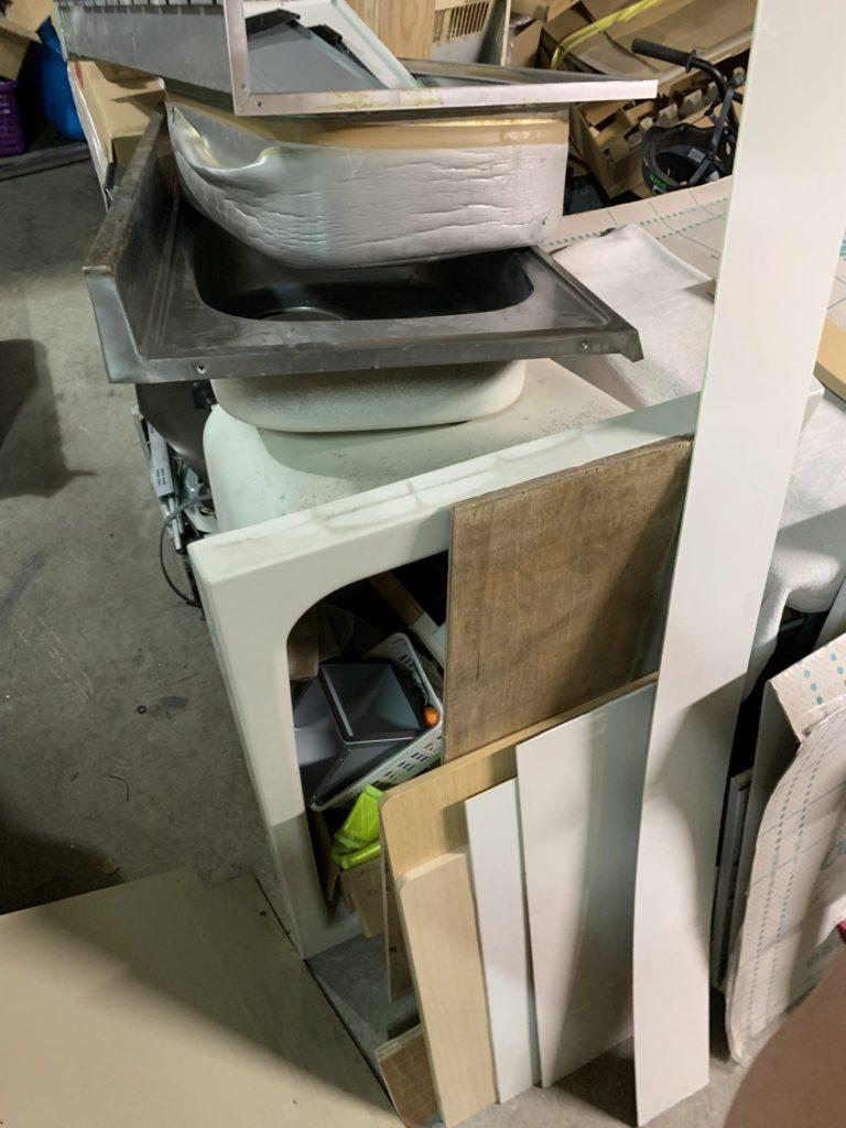 大阪市平野区 店舗・会社・倉庫・工場などの整理・不用品処分 法人様のお客様 6