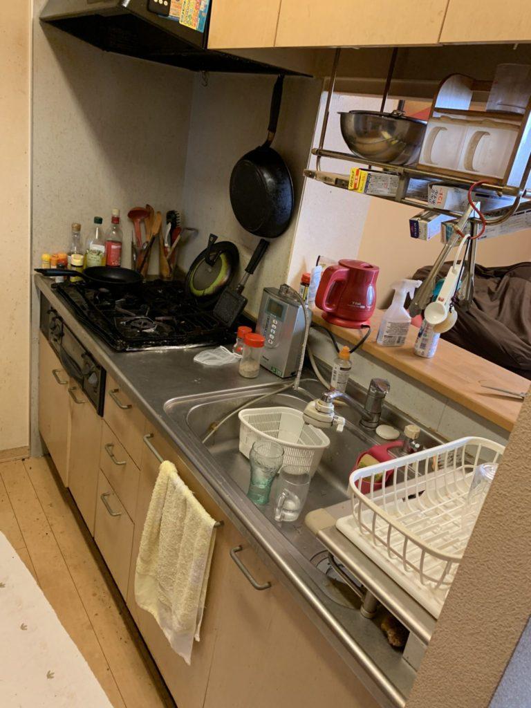 兵庫県尼崎市の大量の不用品処分前4