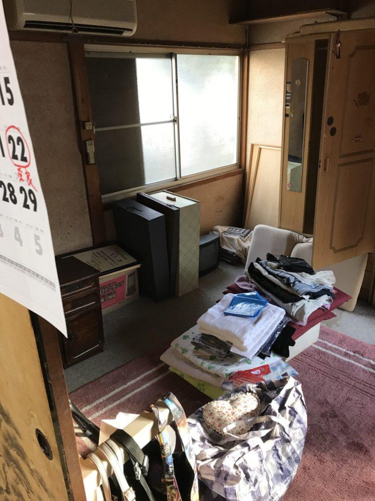 大阪府八尾市の不用品回収前1