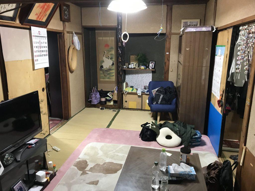 大阪府八尾市の不用品回収前7