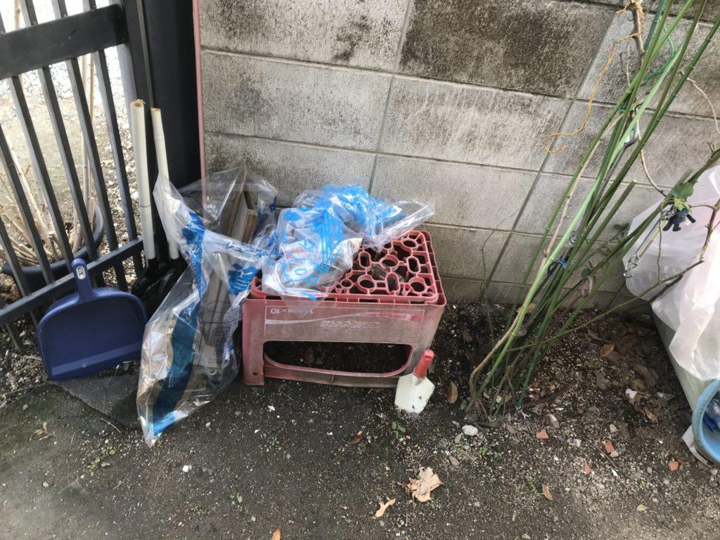 大阪府八尾市の家一軒丸ごと整理前