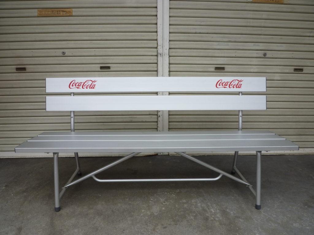 Coca Cola コカコーラ アルミベンチの不用品買取1