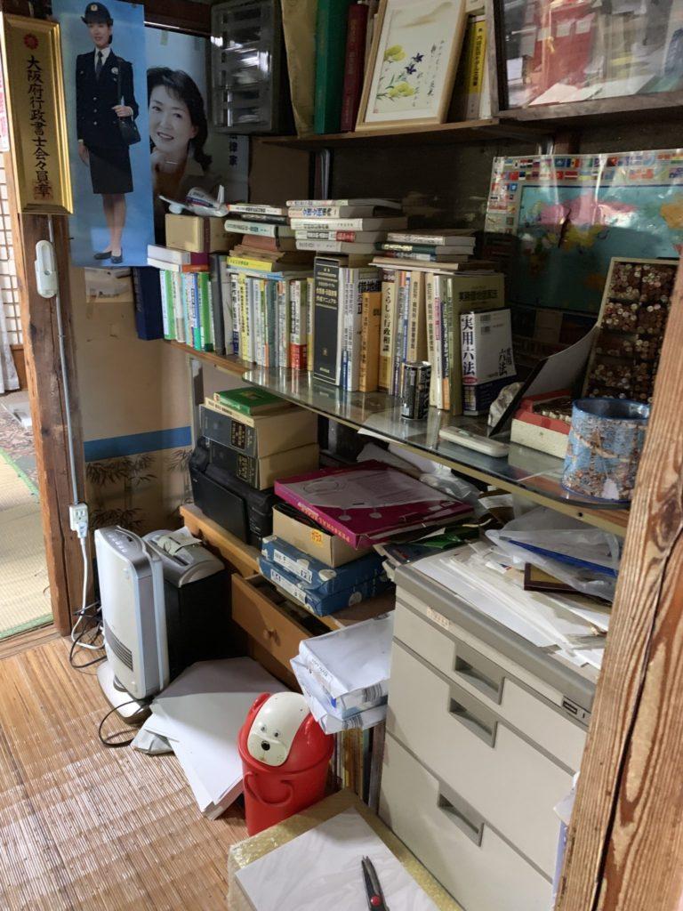 大阪市淀川区家一軒丸ごと整理不用品処分1