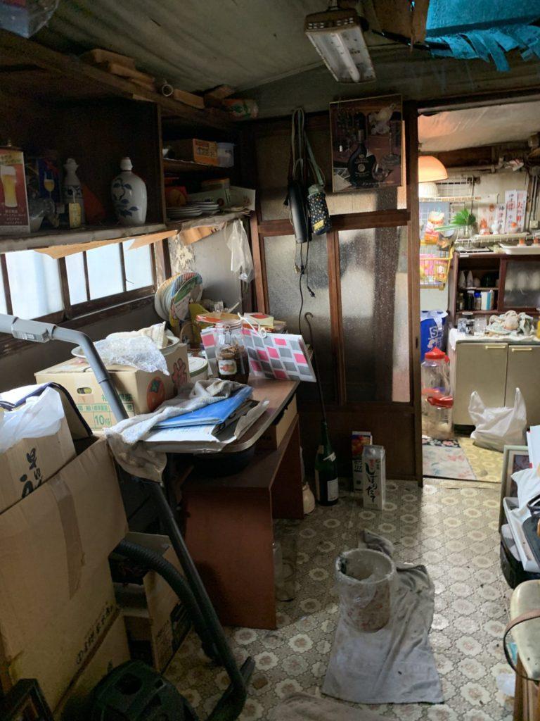 大阪市淀川区家一軒丸ごと整理不用品処分6