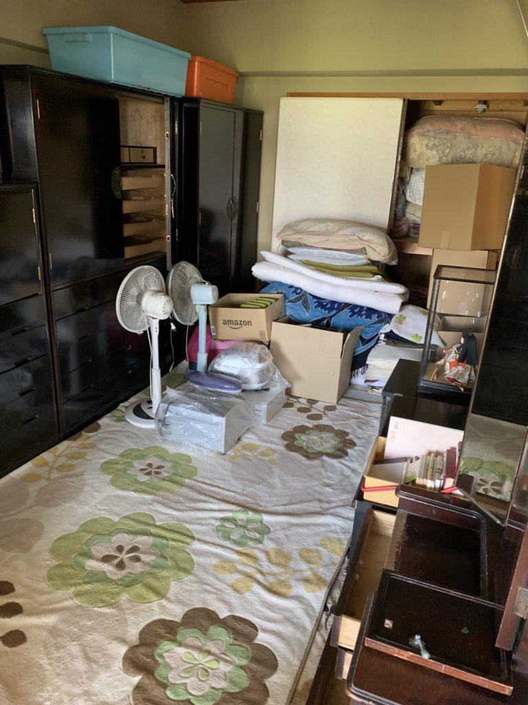淀川区一軒家丸ごと整理不用品回収前2