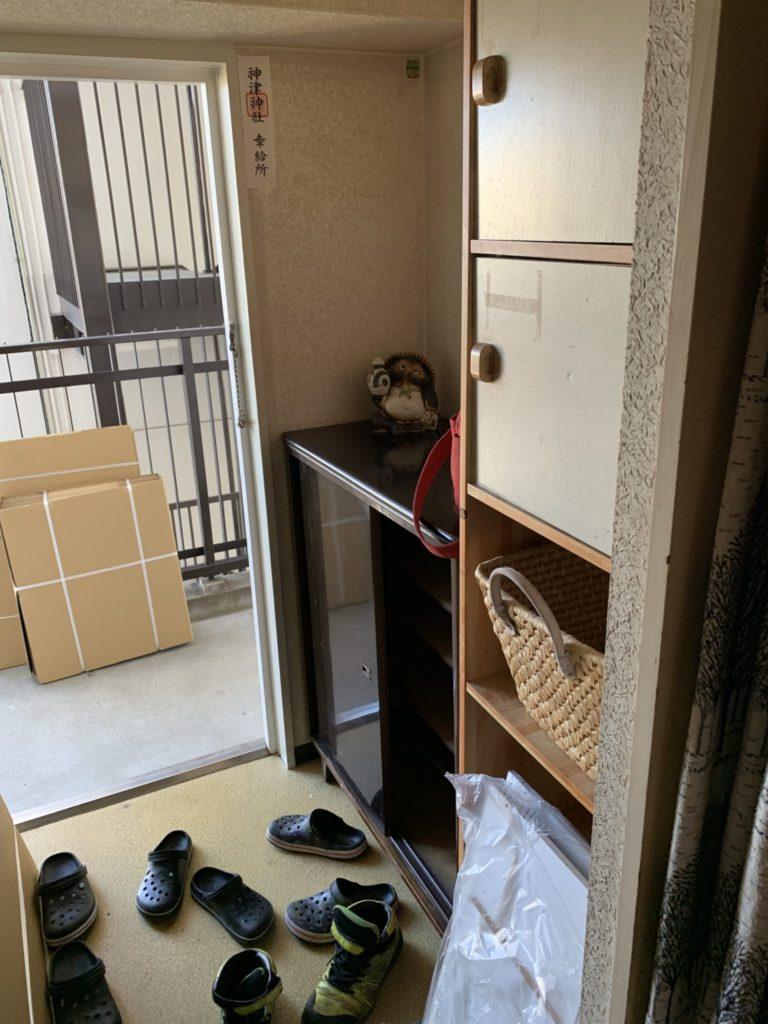 淀川区一軒家丸ごと整理不用品回収前5