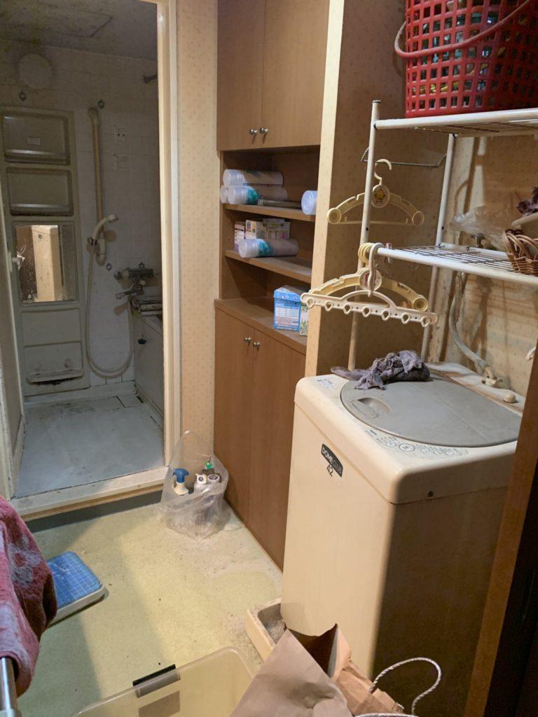 大阪市淀川M様70代男性家一軒丸ごと整理引っ越し 大量の不用品回収前4