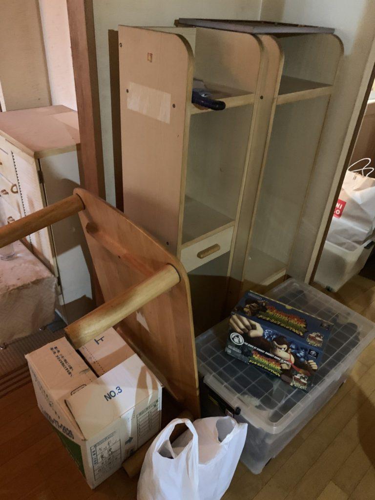 大阪市淀川M様70代男性家一軒丸ごと整理引っ越し 大量の不用品回収前5