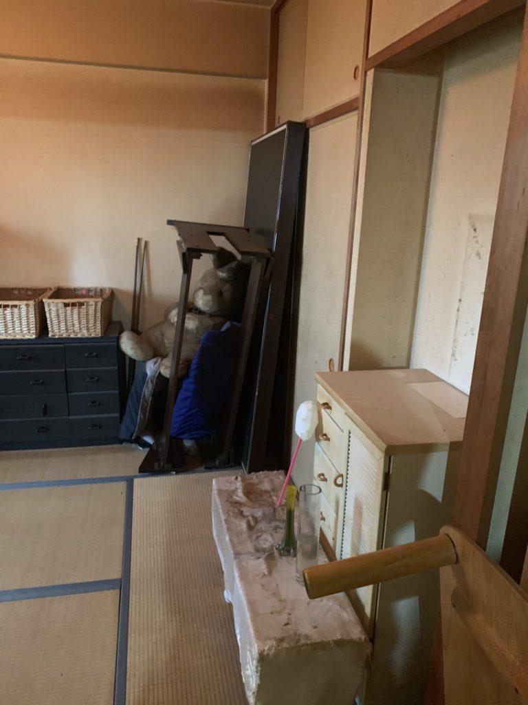 大阪市淀川M様70代男性家一軒丸ごと整理引っ越し 大量の不用品回収前6