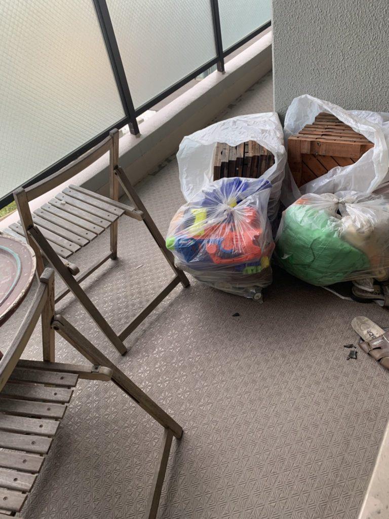 大阪市淀川M様70代男性家一軒丸ごと整理引っ越し 大量の不用品回収前12