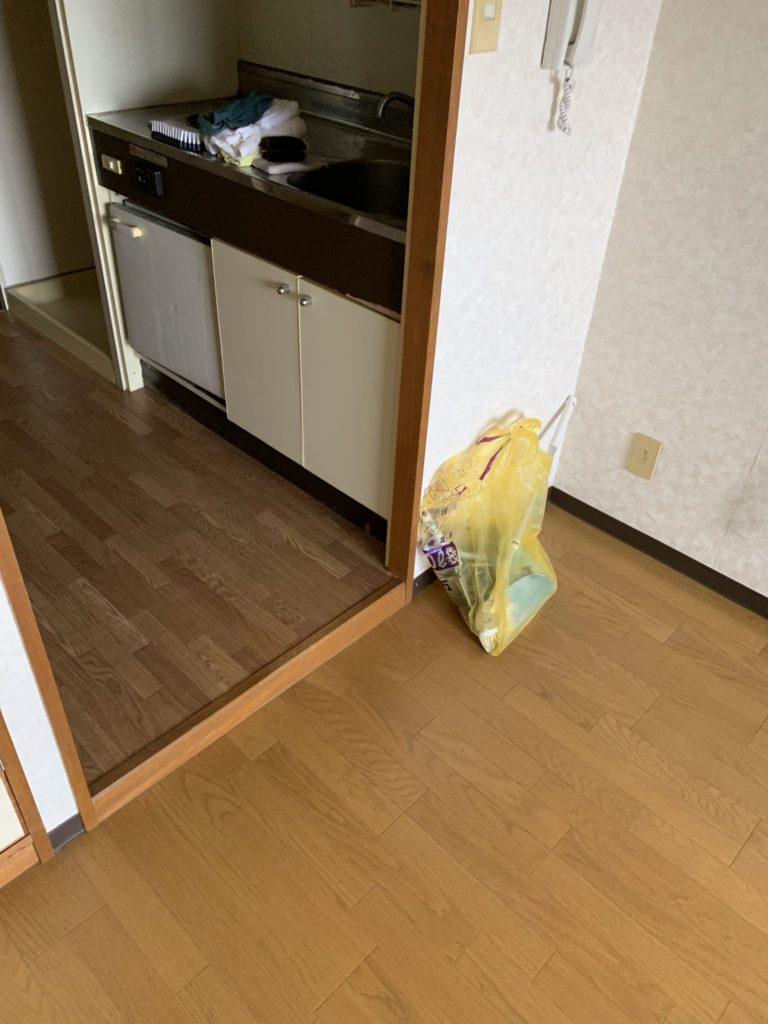 京都市伏見区少量の不用品回収後2