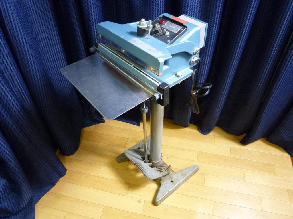 大阪市北区にて富士インパルスのシーラーを買取させて頂いたクリニーズの不用品買取事例