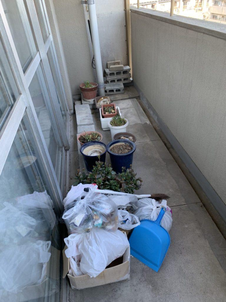 大阪市淀川区K様80代女性 少量の不用品回収前3