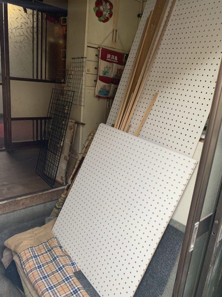 大阪府八尾市N様20代女性大量の不用品回収家一軒丸ごと整理前3