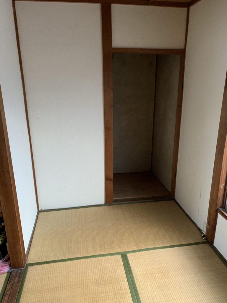 大阪府八尾市N様20代女性大量の不用品回収家一軒丸ごと整理後3