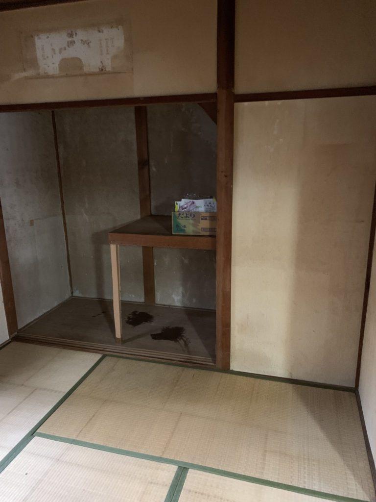 大阪府八尾市N様20代女性大量の不用品回収家一軒丸ごと整理後4