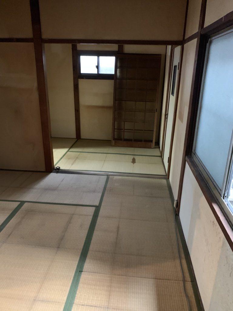 大阪府八尾市N様20代女性大量の不用品回収家一軒丸ごと整理後5