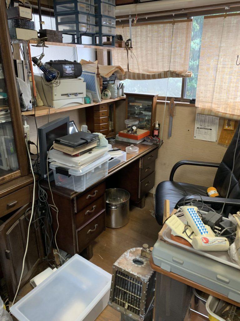 大阪府八尾市遺品整理大量の不用品処分前4