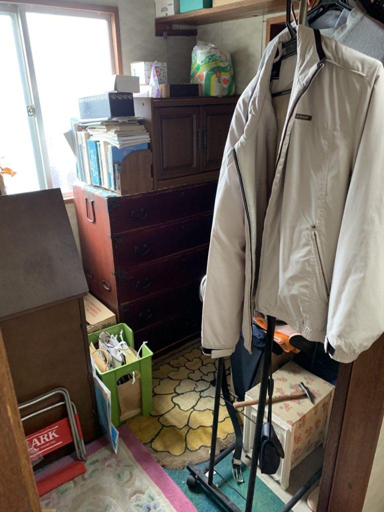 大阪府堺市堺区遺品整理 家一軒丸ごと整理前5