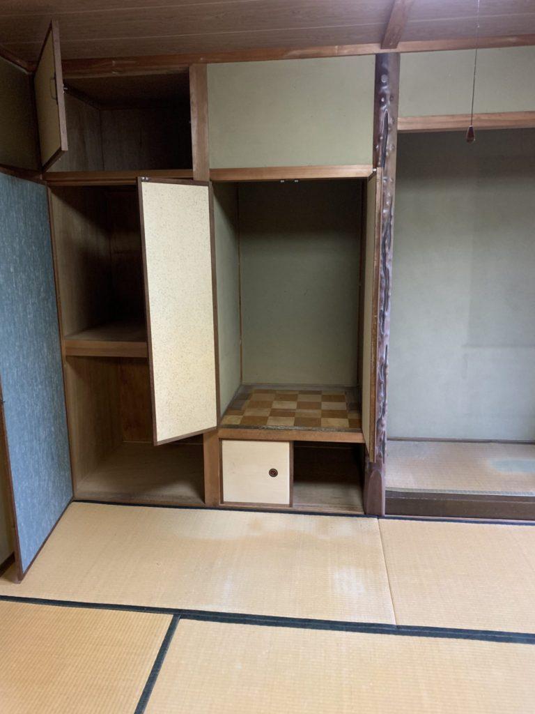 大阪府堺市堺区遺品整理 家一軒丸ごと整理後5